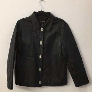 Dialogue leather jacket size small